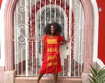Handwoven Traditional Oaxacan Dress