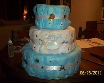 Babyboy Diaper Cake