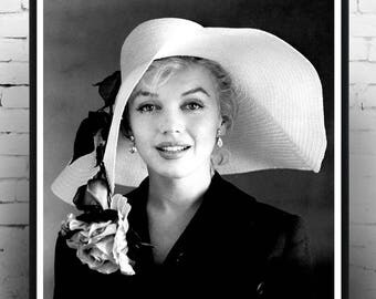 Marilyn Monroe Floppy Hat 1960 ,