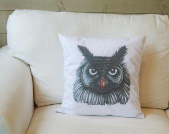 Cushion OWL Illustration