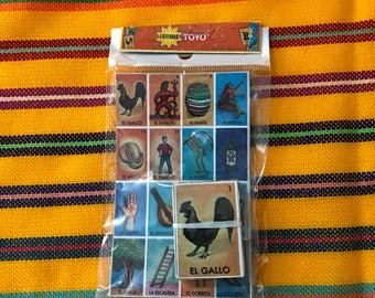 Mexican Lotteria Party Favor (Mini Set) 10 pack
