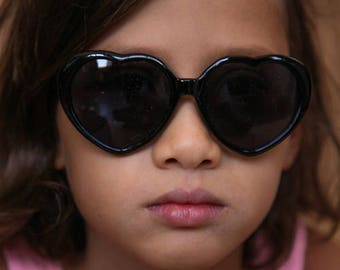 Heart Shaped Sunglasses, Girls Sunglasses, Kids Sunglasses, Kids Accessories, Hot Pink Sunglasses, Heart Sunglasses