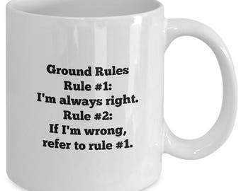My Ground Rules Mug