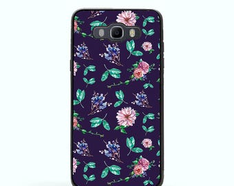 Samsung Galaxy J3 J5 J7 case Flowers Pattern Galaxy J3 2016 case J5 2016 case J7 2016 case Samsung J3 2016 case Galaxy J5 2016