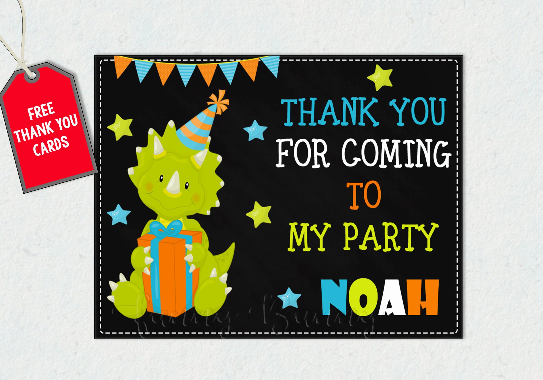 Dinosaur invitation Dinosaur birthday invitation 1st First Birthday ...