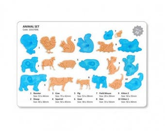 JEM Animal cutters - set of 10