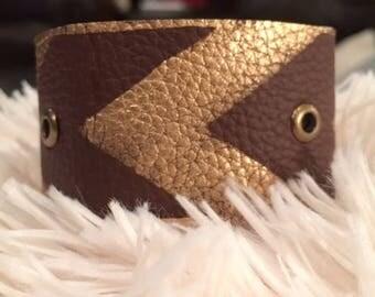 Leather Cuff, Cuff Bracelet, Boho Jewelry, Wrist Cuff