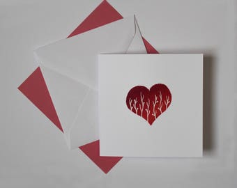 Heart Card - Pack of 3