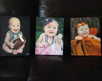 Oil Painted Portraits