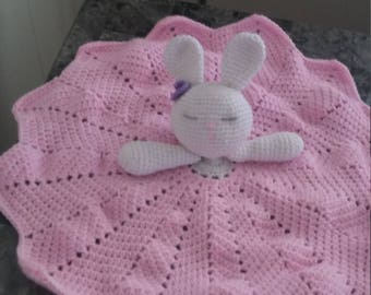 Bunny Cuddle blanket