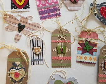 Colorful and Unique Gift Tags