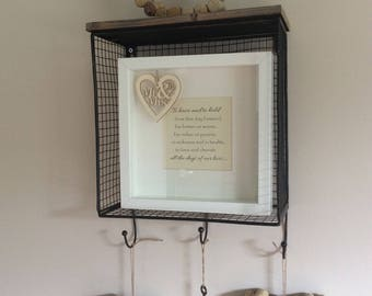 Wedding vows frame print