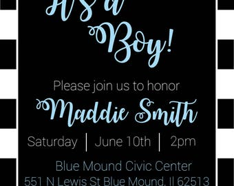 Baby Shower Invitation 6