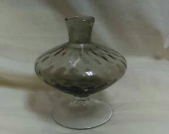 UNUSUAL MCM optic glass vase