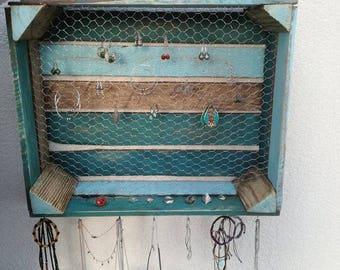 Vintage jewelry display
