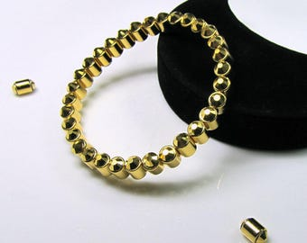 Gold Crystal Magnetic Bracelet Health Smart and Serious Bling