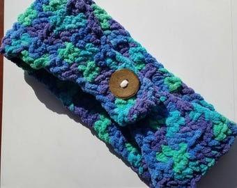 Crochet Mermaid Colored Ear Warmer