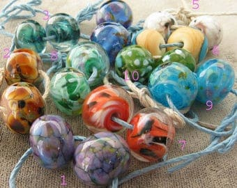Lampwork  Choose any From the  10 earrings pairs Pictured