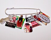 Agatha Christie MISS MARPLE Wearable Art Pin