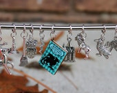 Harry Potter Inspired Knitting Stitch Markers (Set of 11)