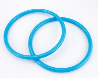 Robin's Egg Blue Bangle (2 Pcs) #BAN022