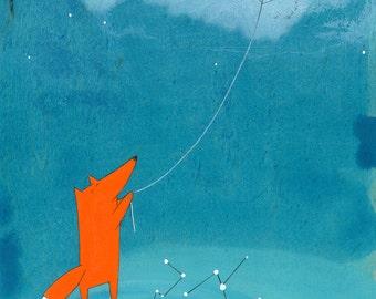 The New Kite - Signed Art Print