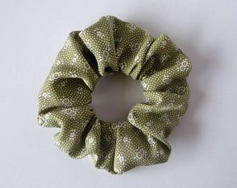 Komon Silk Hair Tie, Japanese Vintage Kimono Hair Accessory, Gift Idea for Mother's Day, Shushu, Scrunchie