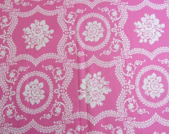 Casey Scroll Jennifer Paganelli Fabric JP01 Pink Freespirit Cotton OOP
