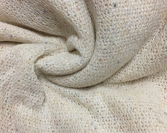 Speckled  Sweater Knit Fabric 1-1/4 Yards