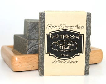 Dead Sea Mud - Goat Milk Soap