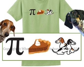 Piebald Dachshund T-Shirt: Pie