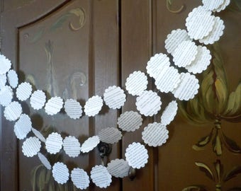 The Great Gatsby Party Decor Book page garland recycled book garland Twilight book banner, tween bedroom decoration, book art