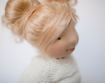 Learn to make a Waldorf Doll, Steiner Doll, online workshop, video and pdf tutorial, Waldorf education handwork, homeschool material,
