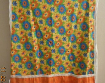 MadieBs  Colorful Wheat Flower Look  Smock Cobbler Custom Made Apron