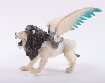 Lion, Toy, Fantasy, Figure, Flying, Action Figure, Wings ~ The Pink Room ~ 161025