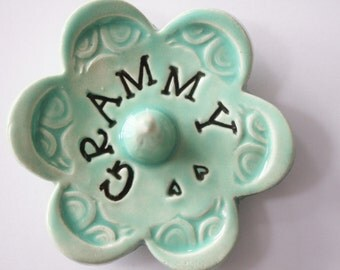 Grammy ring dish - Gift for Grammy - Keepsake Ring Dish -  Gift box included