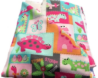 Newborn Gift Set - Babysaurus Blanket/Burp Cloths