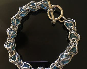 Captured Crystal Chainmaille Tutorial