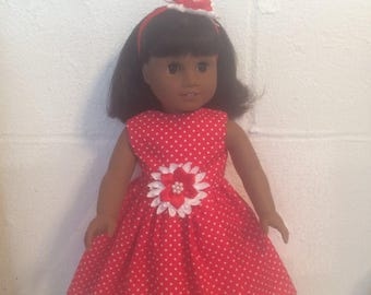 "Doll clothes 18""doll like the American girl"