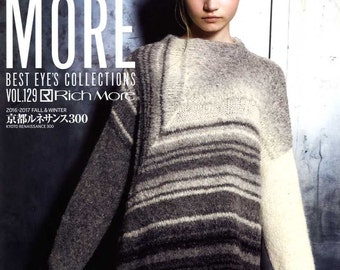RICH MORE Best Eye's Collections Vol 129 - Japanese Craft Book