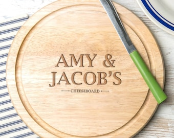 Wooden Bread Board Personalised