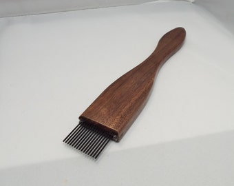 paintbrush-weaving beater-Walnut-Fine