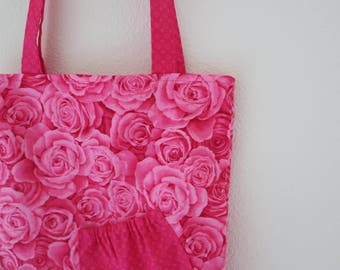 Easy Tote : Roses