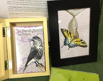 Princess of Wands BirdQueen Tarot Gift Set- SPECIAL