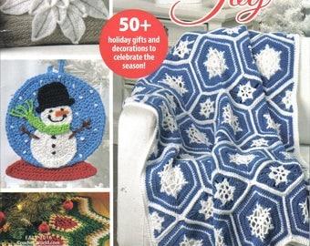 Crochet Book ~ Comfort & Joy  ~  Crochet World New Book  ~ Christmas pattern book