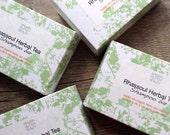 Rhassoul Herbal Solid Shampoo Bar - with Raw Apple Cider Vinegar - Organic Herbal Formula