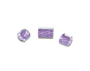 David Christensen Beads Lilac Blue Set B164-03