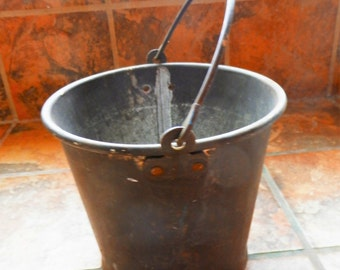 Antique Primitive Rustic Bucket or Pail