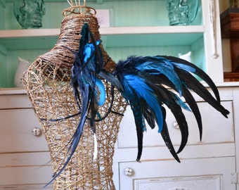 Feather Wings Fairy Faerie Raven Cosplay Adult Costume Made to Order