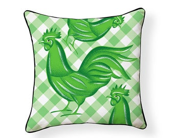 Country Rooster Pillow